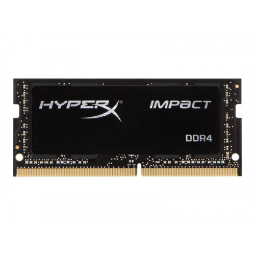 HyperX Impact - DDR4 - 16 GB - SO-DIMM 260-pin - 2666 MHz / PC4-21300 - CL15 - 1.2 V - unbuffered - non-ECC - black