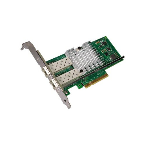 Intel Ethernet Converged Network Adapter X520-DA2 - Network adapter - PCIe 2.0 x8 low profile - 10Gb Ethernet / FCoE SFP+ x 2