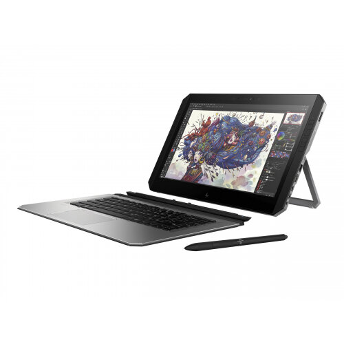 "HP ZBook x2 G4 Detachable Workstation - Tablet - with Bluetooth keyboard - Core i7 7500U / 2.7 GHz - Win 10 Pro 64-bit - 16 GB RAM - 512 GB SSD NVMe - 14"" IPS touchscreen 3840 x 2160 (Ultra HD 4K) - HD Graphics 620 - Wi-Fi, NFC, Bluetooth - kbd: UK"