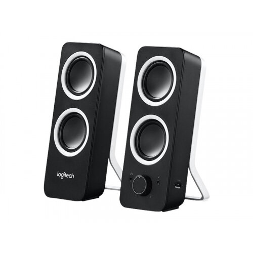 Logitech Z200 - Speakers - black