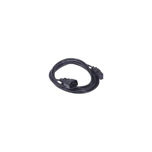 Dell - Power cable - IEC 60320 C14 to IEC 60320 C13 - AC 250 V - 4 m - for Force10; PowerEdge R220, R320, R430, R530, R630, R730, T110, T320, T430, T630, VRTX