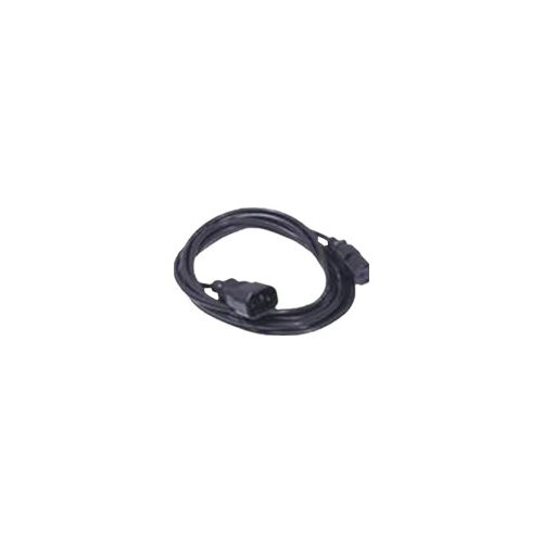Dell - Power cable - IEC 60320 C14 to IEC 60320 C13 - AC 250 V - 2 m - for EqualLogic PS6210; PowerEdge R220, R630, R730, T320, T630; PowerVault MD3800, MD3820