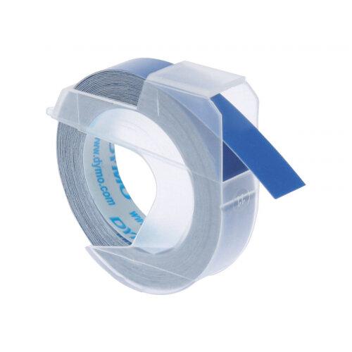 DYMO - Self-adhesive - blue - Roll (0.9 cm x 3 m) 1 roll(s) 3D embossing tape - for DYMO Junior embosser