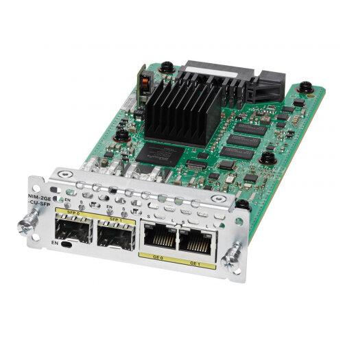 Cisco WAN Network Interface Module - Expansion module - combo Gigabit SFP x 2 - for Cisco 4451-X