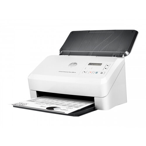 HP ScanJet Enterprise Flow 5000 s4 Sheet-feed Scanner - Document scanner - Duplex - 215.9 x 3098.8 mm - 600 dpi x 600 dpi - up to 55 ppm (mono) / up to 45 ppm (colour) - ADF (80 sheets) - up to 6000 scans per day - USB 3.0, USB 2.0