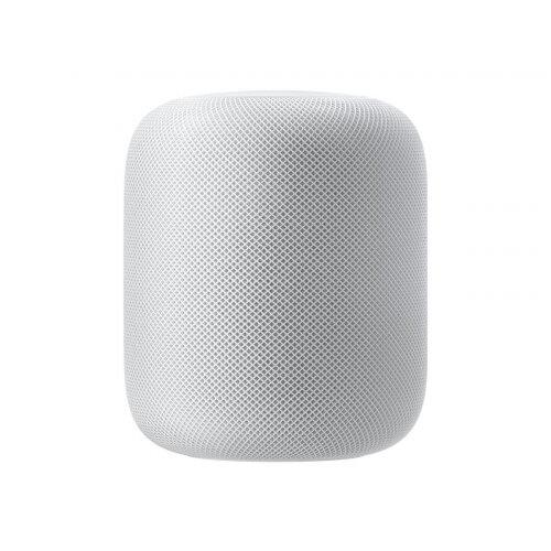 Apple HomePod Smart 2-Way Speaker - Wi-Fi, Bluetooth for iPad/iPhone/iPod - Intelligent Siri Assistant - Colour: White