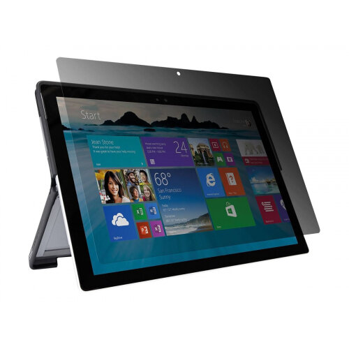 """Targus Privacy Screen - Tablet PC privacy filter - 12.3"""" - transparent - for Microsoft Surface Pro 4"""