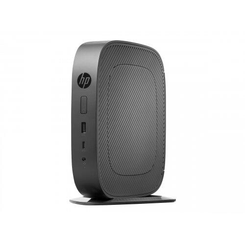 HP t530 - Thin client - Tower Desktop PC - 1 x GX-215JJ 1.5 GHz - RAM 4 GB - flash 16 GB - MLC - Radeon R2E - GigE - Win Embedded Standard 7E - monitor: none - promo