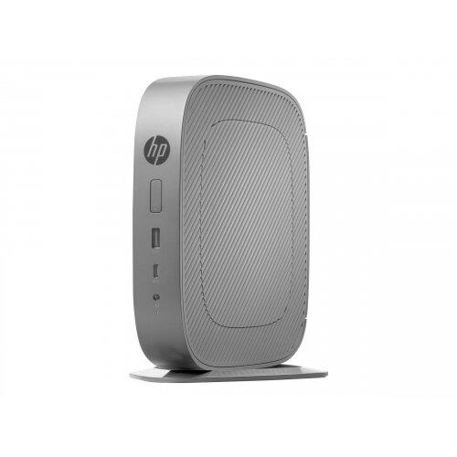 HP t530 - Thin client - Tower Desktop PC - 1 x GX-215JJ 1.5 GHz - RAM 4 GB - flash 32 GB - Radeon R2E - GigE - Win 10 IOT Enterprise - monitor: none
