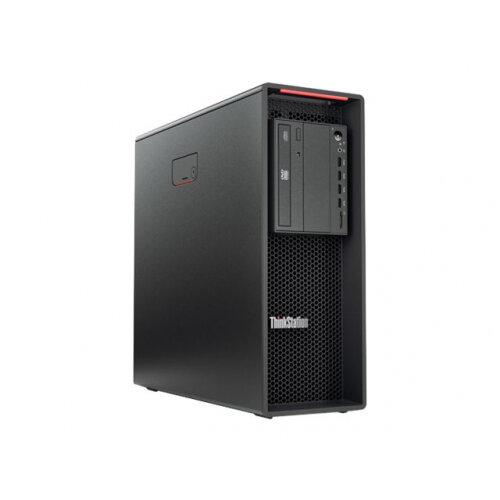 Lenovo ThinkStation P520 30BE - Tower Desktop PC - 1 x Xeon W-2104 / 3.2 GHz - RAM 16 GB - SSD 256 GB - TCG Opal Encryption - DVD-Writer - no graphics - GigE - Win 10 Pro 64-bit - monitor: none - TopSeller