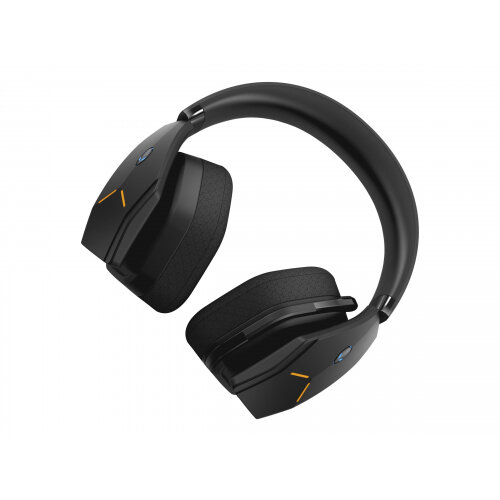 Alienware Wireless Gaming Headset AW988 - Headset - full size - 2.4 GHz - wireless, wired - 3.5 mm jack