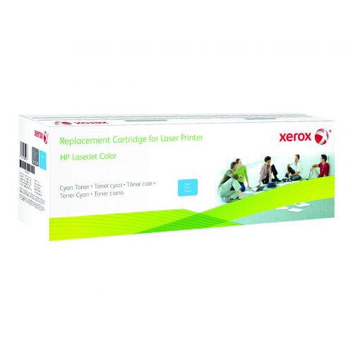 Xerox - Cyan - toner cartridge - for HP LaserJet Enterprise MFP M577; LaserJet Enterprise Flow MFP M577