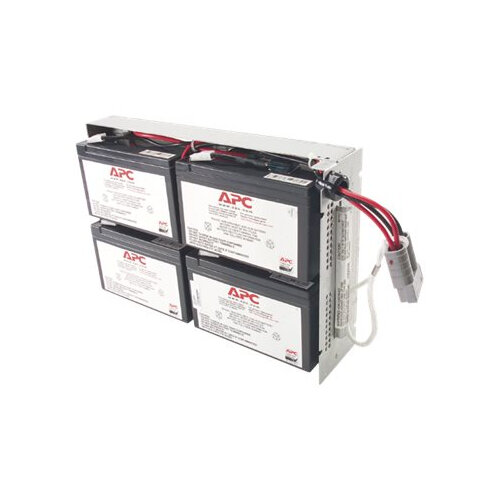APC Replacement Battery Cartridge #23 - UPS battery Lead Acid - black - for P/N: SUA1000R2ICH, SUA1000RMI2U(P), SUA1000RMI2U-3EW, SUA1000RMI2U-3XW, SUA1000RMI2U-5XW