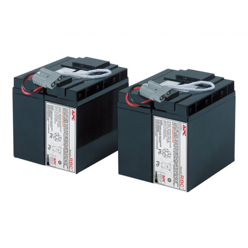 APC Replacement Battery Cartridge #11 - UPS battery Lead Acid - black - for P/N: DLA2200J, SU2200I, SU2200XLX114, SU3000I, SU3000UXICH, SUA2200US, SUA3000T, SUA3000US