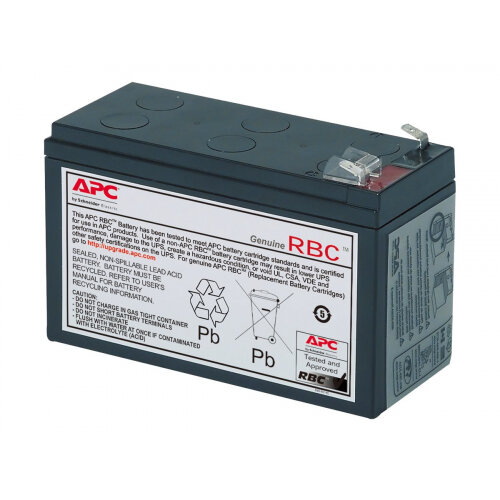 APC Replacement Battery Cartridge #17 - UPS battery Lead Acid - for P/N: 515-970, BE650G, BE650Y-IN, BE700-AZ, BE700-CP, BE700-RS, BE750G, BE750G-CN, BN700MC