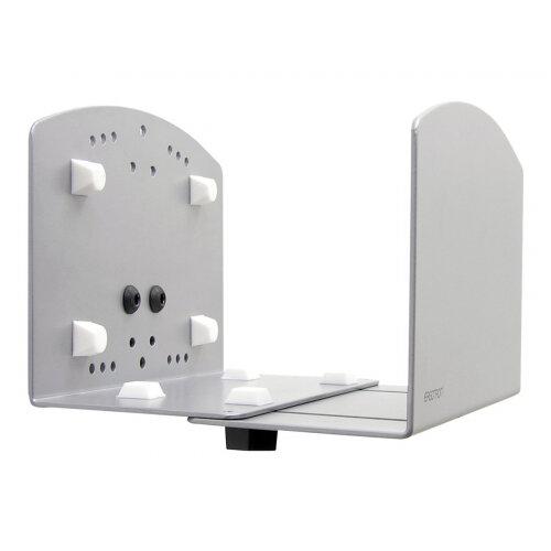 Ergotron Vertical Universal CPU Holder - System unit holder - silver - for P/N: 45-353-026, 45-354-026