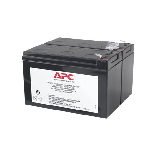 APC Replacement Battery Cartridge #113 - UPS battery - 1 x Lead Acid - black - for Back-UPS RS 1100