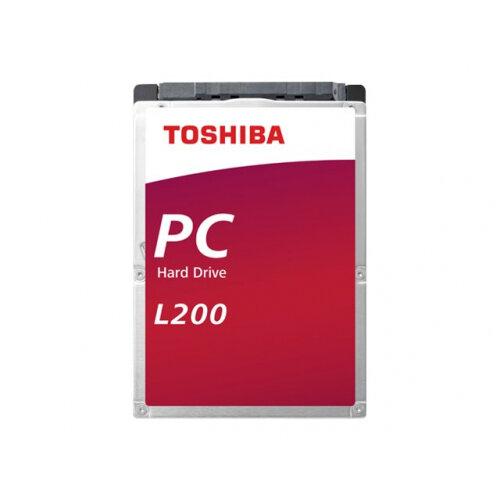 Toshiba L200 - Hard drive - 2 TB - internal - 2.5&uot; - SATA 6Gb/s - 5400 rpm - buffer: 128 MB