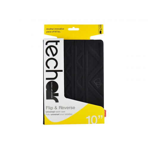 Tech air Universal - Flip cover for tablet - textured polyester - black