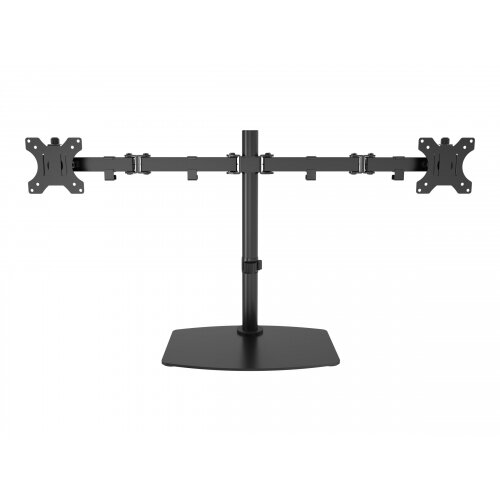 Vision VFM-DSDB - Stand for 2 LCD displays - steel - black - screen size: 13&uot;-32&uot; - desktop