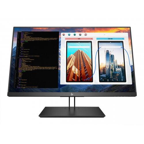 HP Z27 - LED monitor - 27&uot; (27&uot; viewable) - 3840 x 2160 4K UHD (2160p) - IPS - 350 cd/m&up2; - 1300:1 - 8 ms - HDMI, DisplayPort, Mini DisplayPort, USB-C - Black Pearl - promo
