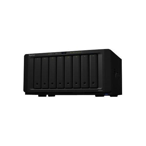 Synology Disk Station DS1819+ - NAS server - 8 bays - SATA 6Gb/s - RAID 0, 1, 5, 6, 10, JBOD - RAM 4 GB - Gigabit Ethernet - iSCSI