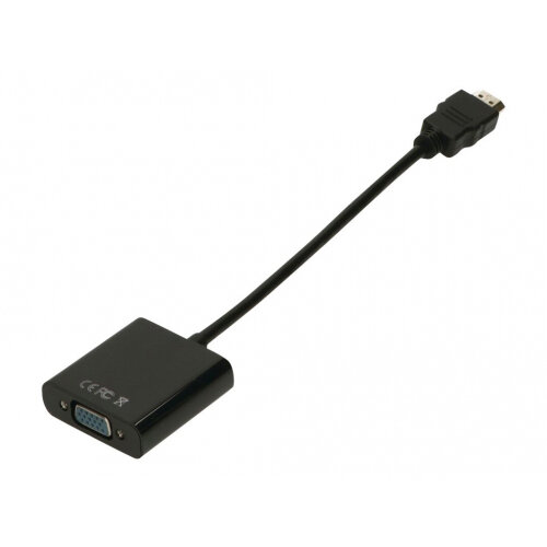 2-Power - Video / audio cable - HDMI / VGA - HDMI (M) to HD-15 (VGA) (F)