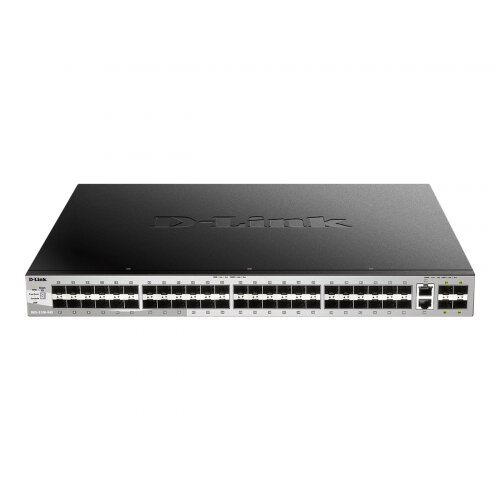 D-Link DGS 3130-54S - Switch - L3 Lite - Managed - 48 x SFP + 2 x 10 Gigabit Ethernet + 4 x 10 Gigabit SFP+