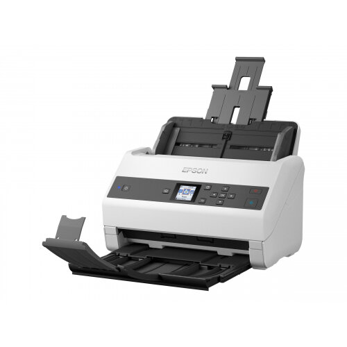 Epson WorkForce DS-970 - Document scanner - Duplex - A4 - 600 dpi x 600 dpi - up to 85 ppm (mono) / up to 85 ppm (colour) - ADF (100 sheets) - up to 9000 scans per day - USB 3.0