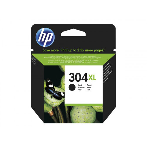 HP 304XL - High Yield - black - original - blister - ink cartridge - for AMP 130; Deskjet 26XX, 37XX; Envy 50XX
