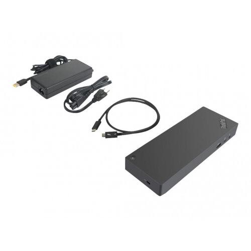 Lenovo ThinkPad Thunderbolt 3 Dock Gen2 - Port replicator - Thunderbolt 3 - 2 x HDMI, 2 x DP, Thunderbolt - GigE - 135 Watt - GB - for ThinkPad L480 20LS, 20LT; P51s 20HB, 20HC, 20JY, 20K0; P52s 20LB, 20LC; T470 20HD, 20HE, 20JM, 20JN; T480 20L5, 20L6; T4