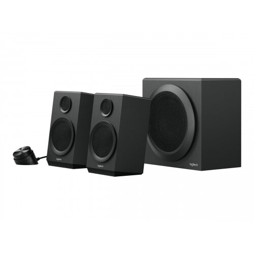 Logitech Z333 - Speaker system - for PC - 2.1-channel - 40 Watt (Total)