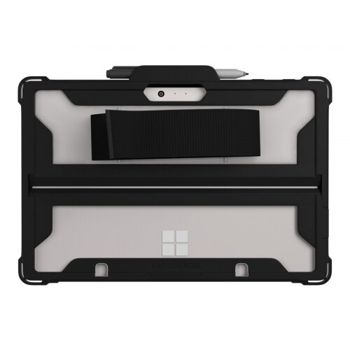 Max Cases Extreme Shell - Back cover for tablet - polycarbonate, thermoplastic elastomer (TPE) - black - 10&uot; in - for Microsoft Surface Go