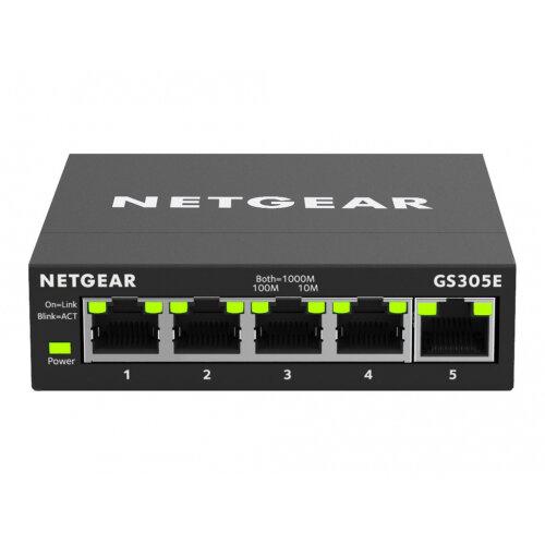 NETGEAR GS305E - Switch - smart - 5 x 10/100/1000