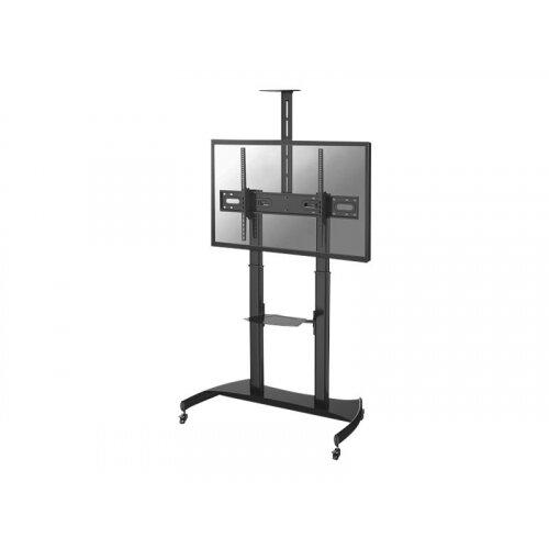 NewStar PLASMA-M1950E - Stand for plasma panel - black - screen size: 60&uot;-100&uot; - floor-standing