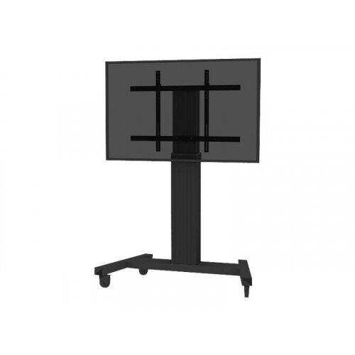 NewStar PLASMA-M2250BLACK - Cart for LCD / plasma panel (motorised) - black - screen size: 42&uot;-100&uot;