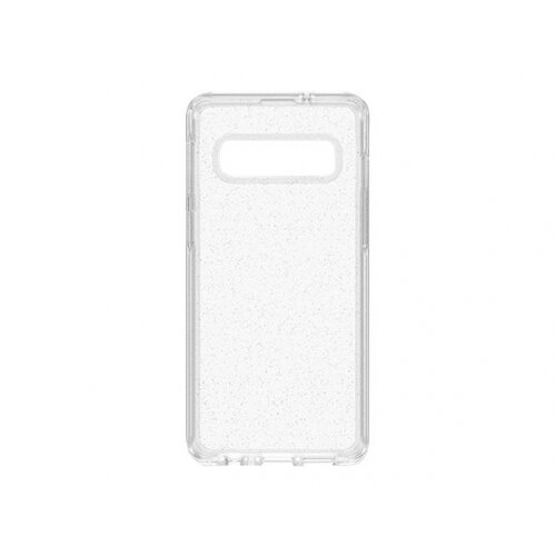 OtterBox Symmetry Series - Back cover for mobile phone - polycarbonate, synthetic rubber - stardust - for Samsung Galaxy S10