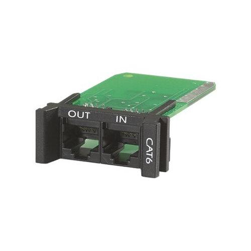 APC ProtectNet Surge Module for CAT6 or CAT5/5e Network Line - Surge protector (plug-in module) - black