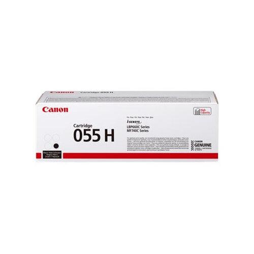 Canon 055 H - High capacity - black - original - toner cartridge - for i-SENSYS LBP663Cdw, LBP664Cx, MF742Cdw, MF744Cdw, MF746Cx