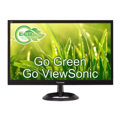 ViewSonic VA2261-2 - LED monitor - 22&uot; (21.5&uot; viewable) - 1920 x 1080 Full HD (1080p) - TN - 200 cd/m&up2; - 600:1 - 5 ms - DVI-D, VGA