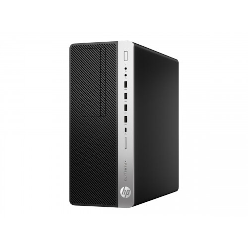HP EliteDesk 800 G5 - Tower - 1 x Core i5 9500 / 3 GHz - RAM 8 GB - SSD 256 GB - NVMe - UHD Graphics 630 - GigE - Win 10 Pro 64-bit - monitor: none - keyboard: UK