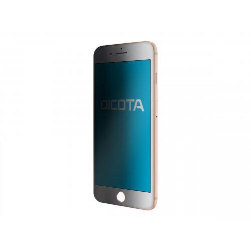 DICOTA Secret 4-Way - Screen privacy filter - transparent - for Apple iPhone 8 Plus