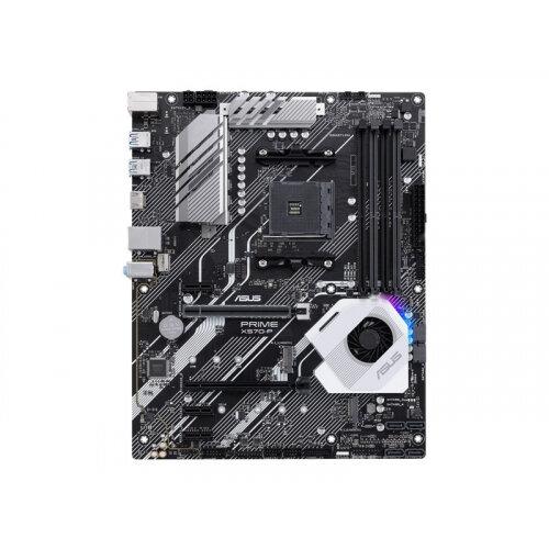 ASUS PRIME X570-P - Motherboard - ATX - Socket AM4 - AMD X570 - USB 3.2 Gen 1, USB 3.2 Gen 2 - Gigabit LAN - onboard graphics (CPU required) - HD Audio (8-channel)