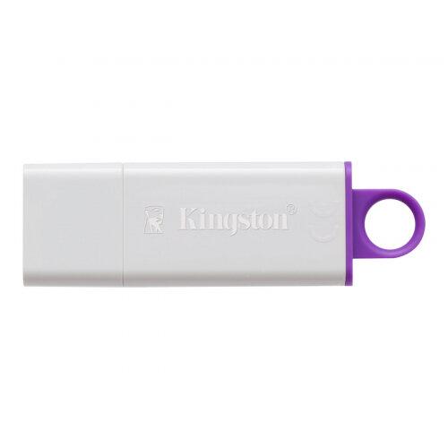 Kingston DataTraveler G4 - USB flash drive - 64 GB - USB 3.0 - violet