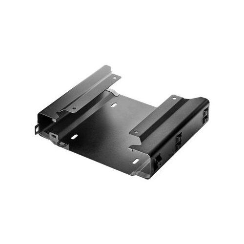 HP v2 - Mounting kit (4 screws, dual VESA sleeve) for Desktop Mini - black - mounting interface: 100 x 100 mm - promo - for HP 260 G3; EliteDesk 705 G3, 705 G5, 800 G3; ProDesk 400 G5, 405 G4, 600 G3, 600 G4