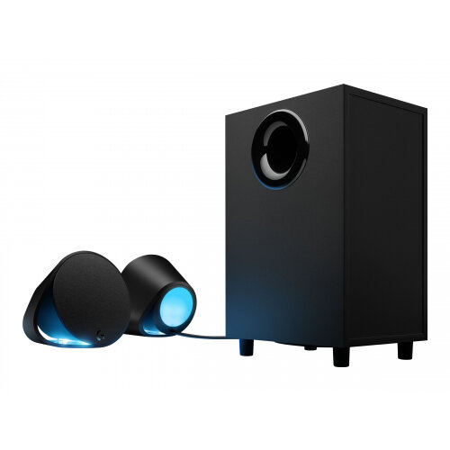 Logitech G560 - Speaker system - for PC - 2.1-channel - wireless - Bluetooth - USB - 120 Watt (Total)