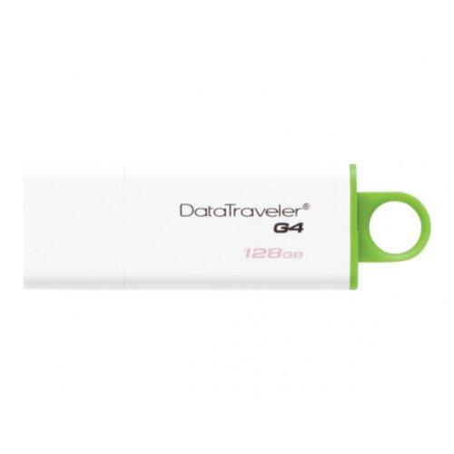 Kingston DataTraveler G4 - USB flash drive - 128 GB - USB 3.0 - green