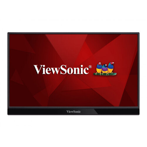 ViewSonic VG1655 - LED monitor - 15.6&uot; (15.6&uot; viewable) - 1920 x 1080 Full HD (1080p) - IPS - 250 cd/m&up2; - 800:1 - 14 ms - HDMI, USB-C - speakers