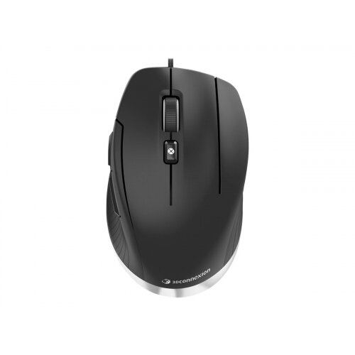 3Dconnexion CadMouse Compact - Mouse - ergonomic - right-handed - optical - 7 buttons - wired - USB