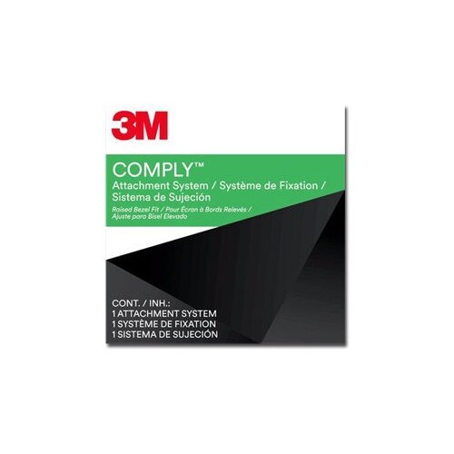 3M Comply Attachment Set - Bezel Type - Notebook privacy filter - adhesive - 10.1&uot;-17&uot; - black